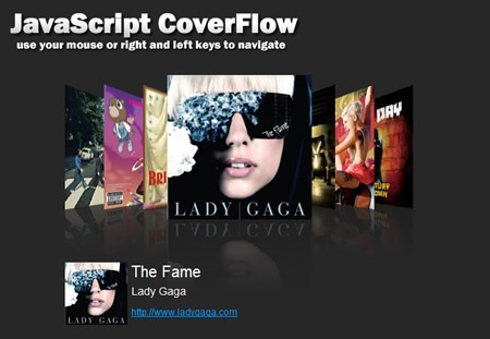 JavaScript CoverFlow